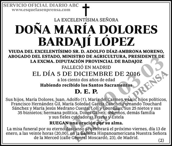 María Dolores Bardají López